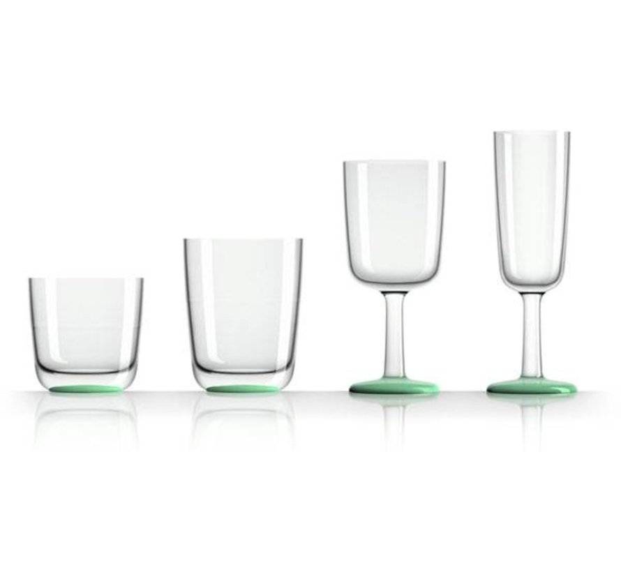 Marc Newson champagneglas Flute Groen Glow in the Dark [16cl]