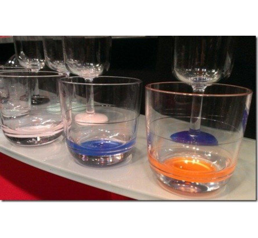 Marc Newson laag glas Lichtblauw [20 cl]
