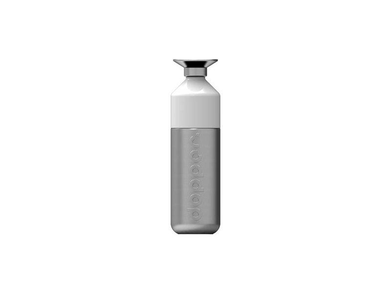 Aktie: 0.50 verzendk.  Dopper Steel 800 ml.  RVS  De grootste waterfles van Dopper