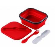 Wacky particals Opvouwbare Lunchbox Small Duurzaam Rood