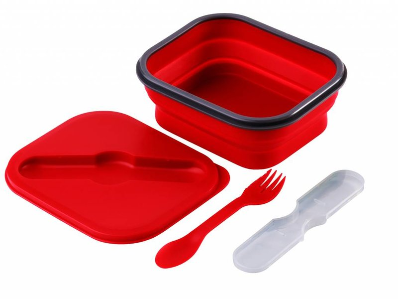 Opvouwbare Lunchbox  Small Duurzaam Rood