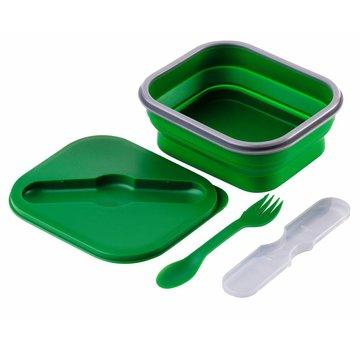 Wacky particals Opvouwbare Lunchbox Small Duurzaam Groen