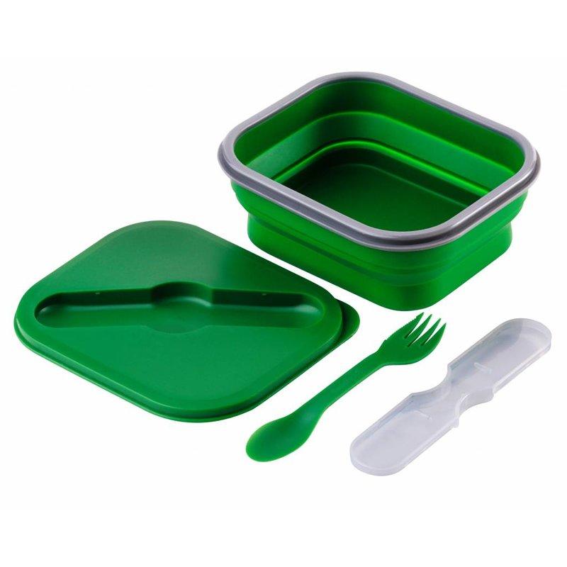 Opvouwbare Lunchbox Small Duurzaam Groen