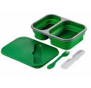 Wacky particals Opvouwbare Lunchbox Large Duurzaam Groen
