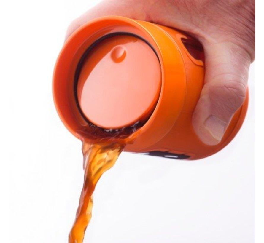 Koffiemok to go Oranje