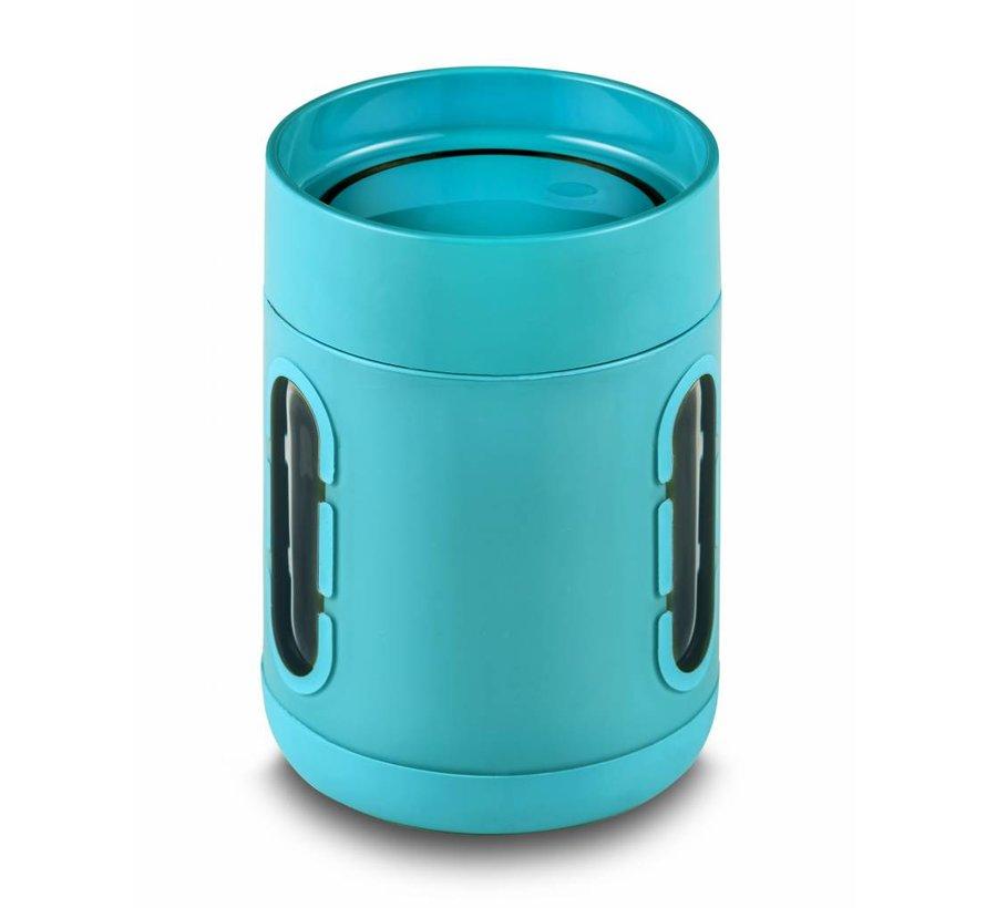 Koffiemok to go Lichtblauw