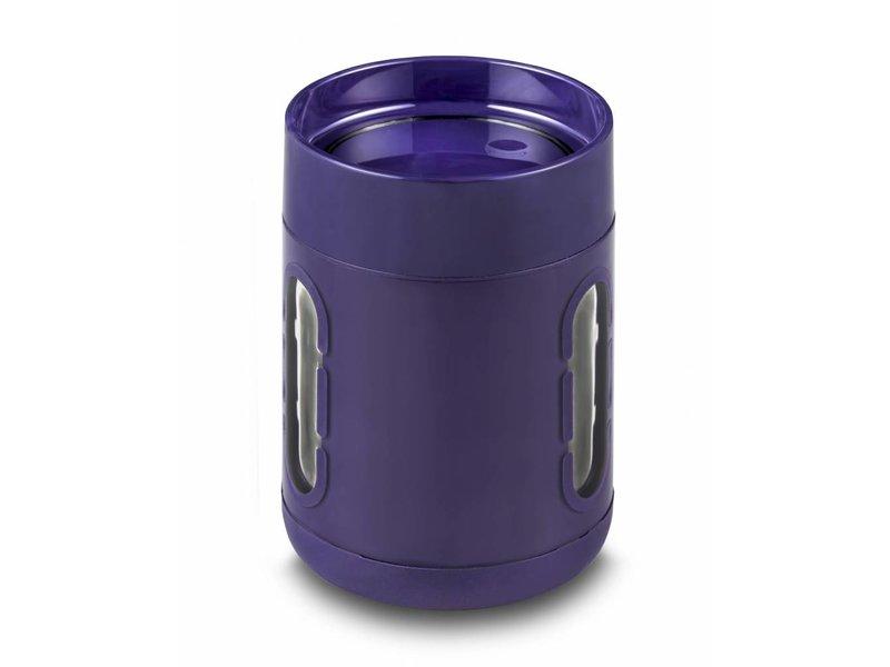 Koffie Mok - Koffie beker - Koffie beker to go -  Antislip bodem - Kijkvensters - Kleur: PAARS