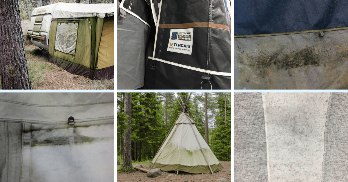Tent cleaning impregnation