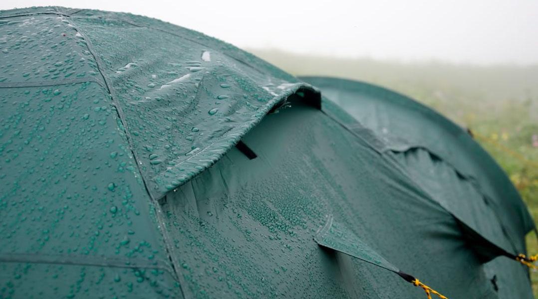 Veel regen? Kans op weervlekken!