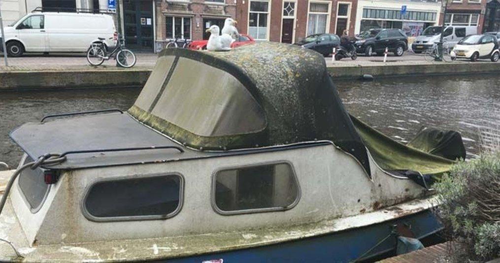 Bootkap reinigen met groene zeep? Niet doen!