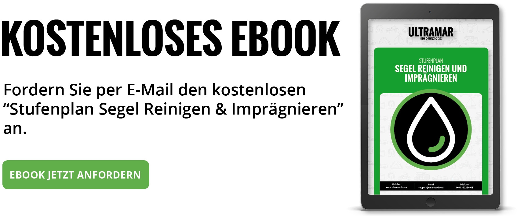 Ebook: Stufenplan Segel Reinigen & Coaten:
