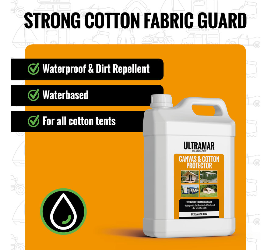 Strong Cotton Impregnating Agent - CANVAS & COTTON PROTECTOR
