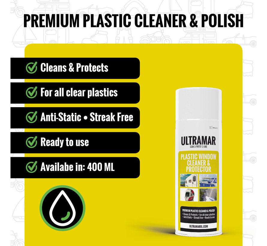 Premium Clear Plastic Cleaner & Protector