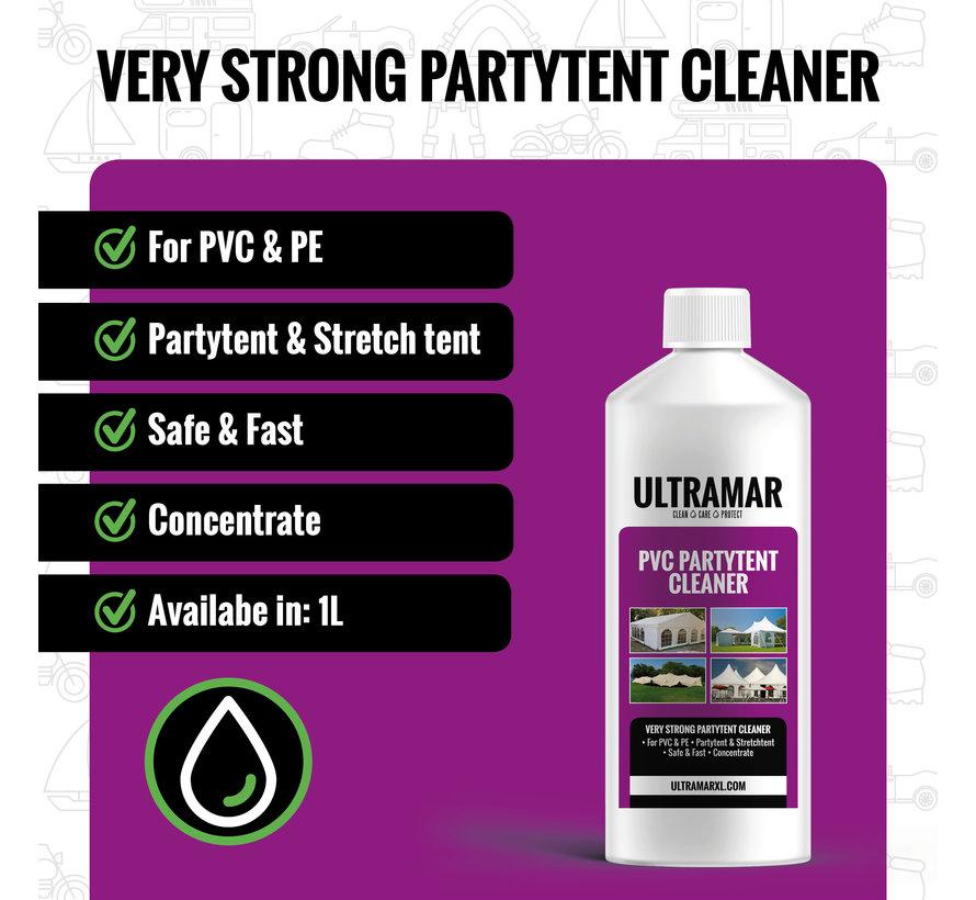Nettoyant pour Tentes de fête en PVC  - PVC PARTY TENT CLEANER