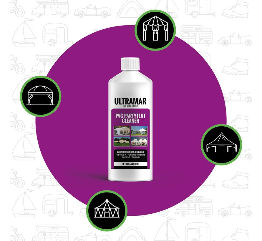 Starkes Reinigungsmittel für Partyzelt und Stretchzelt - PVC PARTY TENT CLEANER