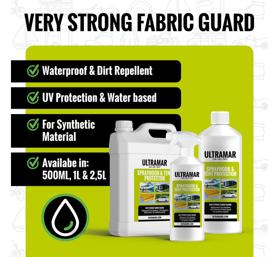 Very Strong Impregnating Agent - SPRAYHOOD & TENT PROTECTOR