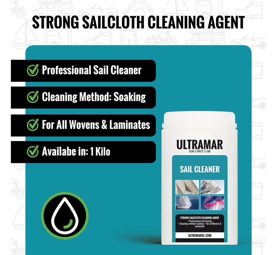 Strong Sailcloth Cleaning Agent - SAIL CLEANER