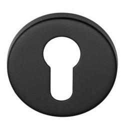 Cilinderrozet Basic LBY50D mat zwart