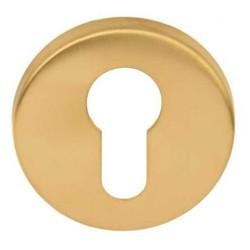 Cilinderrozet Basic LBY50D mat goud
