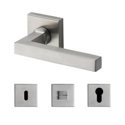 Deurkruk Square Silver
