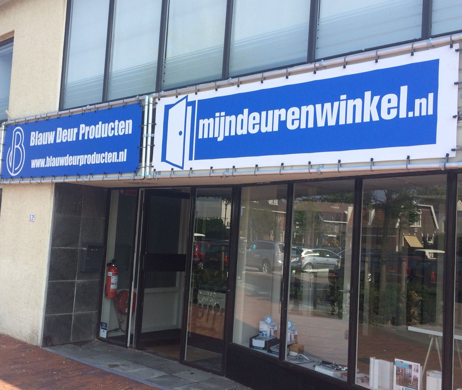 Showroom Mijndeurenwinkel.nl