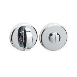 Toiletgarnituur rond PVD Chrome