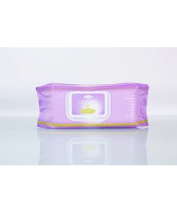 moisturizing wipes voor gezicht en handen per 64 doekjes