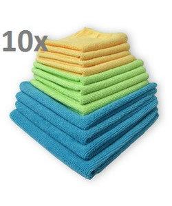 Microvezel doek 40x40 cm wasbaar tot 90gr. - per 10 stuks