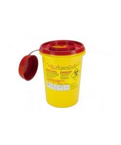 Naaldencontainer 1 liter UN 3291 per 1 stuk