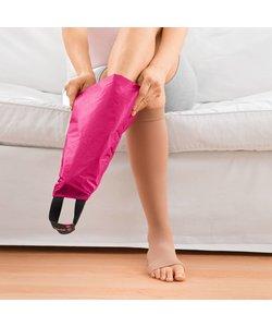 aantrekhulp voor elastische kousen - open teen