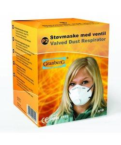 Stofmasker Ventiel FFP2 doosje 10st
