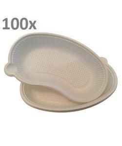 Wegwerp nierbekkens kunststof disposable 100st