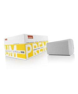 papieren vouwhanddoek z-vouw 25 x 23 cm 2 laags per doos