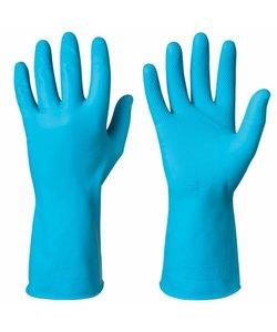 Latex waterdichte PBM handschoen met grip FOOD per paar
