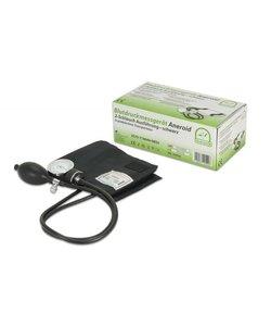 aneroid bloeddrukmeter premium 2-slangen met etui