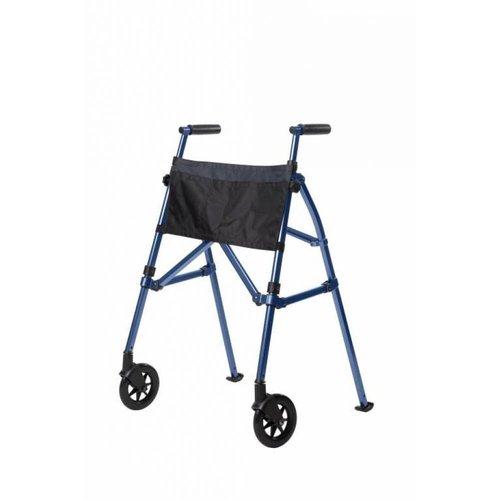 Looprek met 2 wielen - blauw