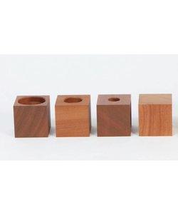 Houten verhogers - 9 cm