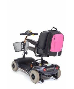 Rugzak Mobility klein - zwart/roze