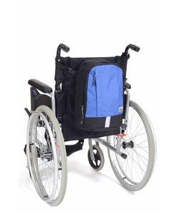 Rugzak Mobility klein - zwart/blauw