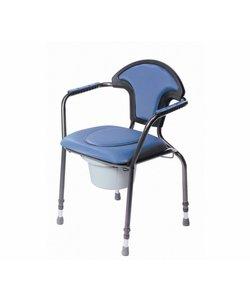 Toiletstoel - blauw verstelbaar