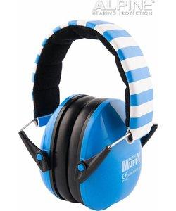 Muffy oorkappen - blauw