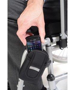 Telefoonhouder rolstoel