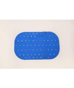 Anti-slip bad- en douchematten - badmat klein blauw