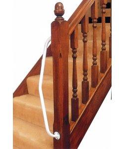 Beugel voor trapleuning - rechtshandig