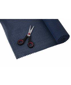 Anti-slip net rol - 51 x 183 cm / donkerblauw