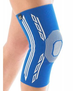 Airflow Plus stabiliserende knie support met siliconen patella kussen - small
