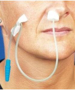 zuurstof catheter CH12 + neusspons per 50