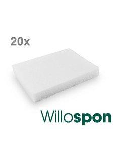 Willospon gelatinespons 8 x 5 x 1cm doosje a 20st