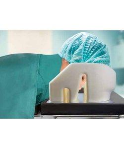 Anesthesie positiekussen met spiegel disposable
