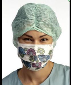 60x 4237 Type2 mondmasker bloemenmotief